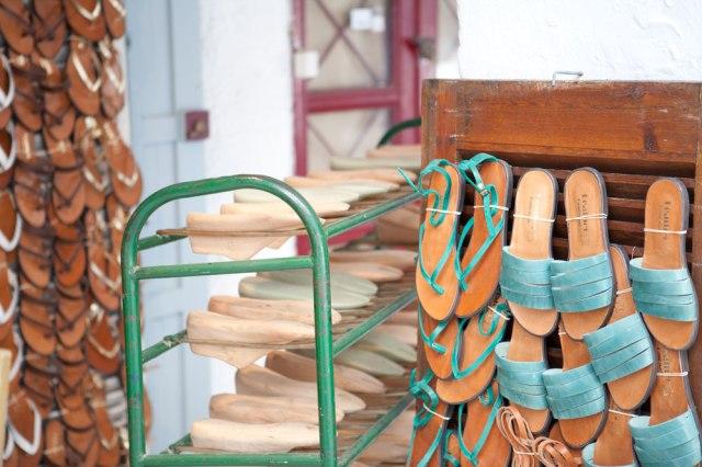 Yiannis Making Sandals + Playing Harmonica   Hope State Style   Caroline Goddard