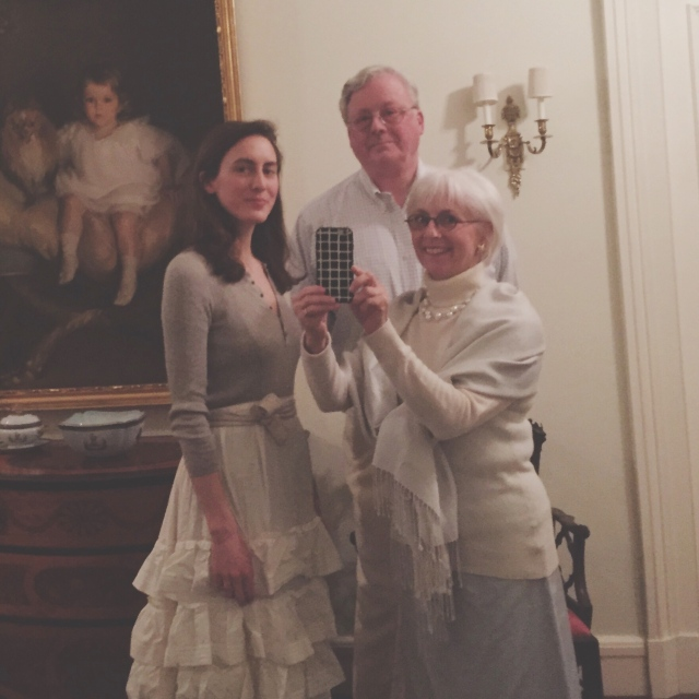A Midwinter White Part at the Newport Art Museum | Hope State Style