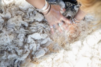 Natural Wool Dyes from Vermont Gardens, Meadows, & Hedgerows - A Workshop at the Marshfield School of Weaving | Caroline Goddard Photography | Hope State Style