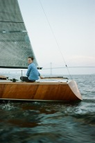 Dinner on Jamestown by way of the S/Y Puffin | Hope State Style | Caroline Goddard Photography