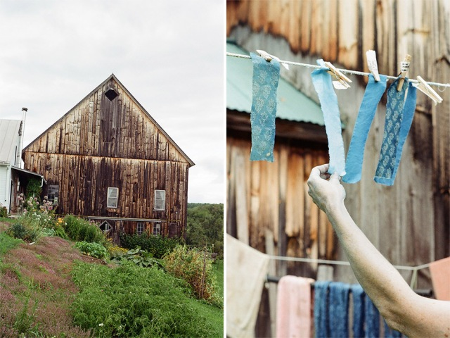 Indigo Intensive at the Marshfield School of Weaving