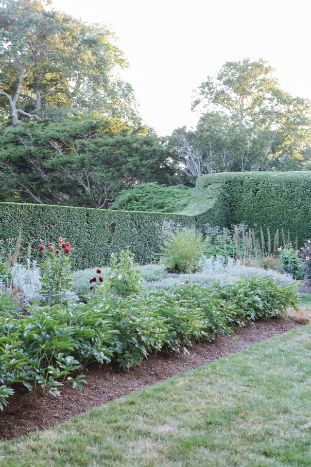 The perennial gardens at Doris Duke's Newport, RI estate, Rough Point | HOPE STATE STYLE | Photography by Caroline Goddard
